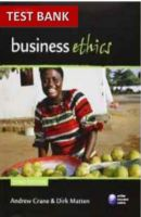 Test bank for business ethics a textbook with cases 8th edition by business ethics managing corporate citizenship 3rd edition test bank fandeluxe Gallery