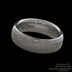 Scott Kay for Men #Cobalt wedding band by #ScottKay