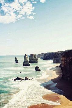 Great Ocean Road, Victoria, Australia #travel #vacation