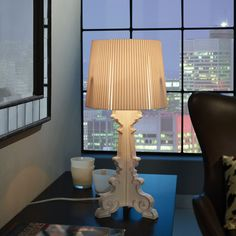 Modway French Petit Table Lamp in White