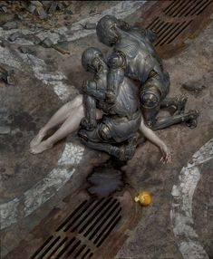 "DOLORIFIC [adjective] causing pain or grief; causing great sadness or sorrow. Etymology: from Late Latin dolorificus, from dolor, ""pain"" + facere, ""to make"". [Donato Giancola - Robot Sorrow]"