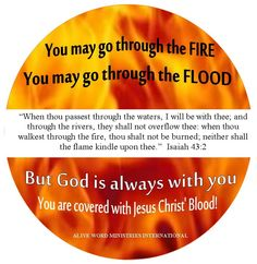 No matter what you're facing this week. Remember, God is always with you and you're covered with Jesus Blood! Have a fabulous and blessed day❤.