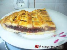 Greek Beauty, Cheesecake Brownies, Sweet Recipes, Waffles, Pie, Cooking, Breakfast, Desserts, Heaven