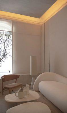 Home Room Design, Dream Home Design, Home Interior Design, Interior Architecture, Living Room Designs, House Design, Living Spaces, Interior Design Minimalist, Minimalist Home