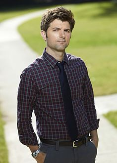 adam scott of parks & recreation, party down