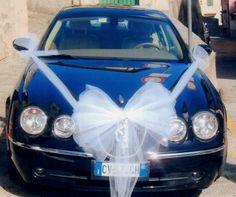 decorazione auto matrimonio