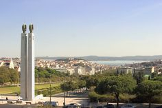 View from Eleven Lisbon, Cn Tower, Portugal, Environment, Castle, Restaurant, City, Building, Amazing