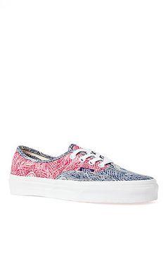 los angeles ce897 0f004 Vans Footwear Sneaker Authentic Sneaker in Liberty Red