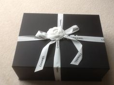 Chanel box and gift wrap