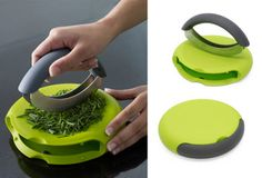 Totalyl a kitchen must-have: compact herb chopper