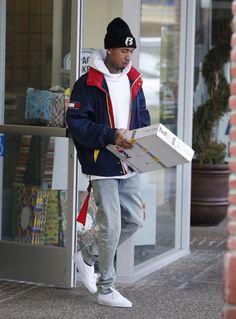 Tyga x Tommy Hilfiger Follow @IllumiLondon for more Streetwear Collections #IllumiLondon