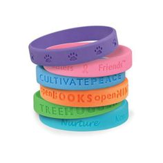 This size is designed for children. Silicone wristband is the most economical and popular item for promotion activity. Imprint logo is available. Contact us and we will reply very soon.