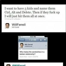 The best Will Ferrell tweets
