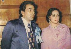 Dhermender ji with Hemamalini ji