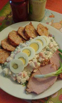 This no all / Disznóól - KonyhaMalacka disznóságai: Húsvéti vegyestál Chicken, Meat, Food, Beef, Meals, Yemek, Cubs, Eten