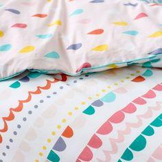 Adairs Kids Girls Summer Rain Cot Quilt Cover - Nursery Nursery - Adairs Kids online