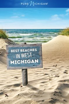 Discover some of the best beaches Michigan, USA, has to offer! Vacation Places, Vacation Trips, Dream Vacations, Vacation Spots, Day Trips, Places To Travel, Places To Visit, Michigan Vacations, Michigan Travel