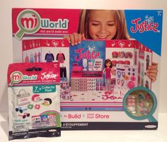 #MiWorld Justice playset Mi World + collector pack - NEW