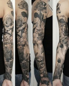 "Gabriele Pais on Instagram: ""#gabripais #fleurs #tattooistartmag #inkedmag #inkjunkeyz #tattoodo #inkfreakz #tattoo #tattoosnob #crazyytattoos"""