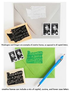 Home+State+Personalized+Return+Address+Stamp+by+paperpastries,+$65.00