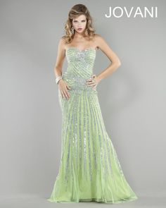Designer Green Evening Gowns polyvore | Prom Dresses 2013 - Jovani Prom 4343 Jovani Prom