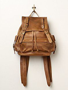Easton Leather Backpack in accessories-bags