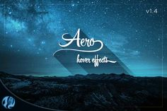 Aero - CSS3 Hover Effects Pack by Gleesik on Creative Market