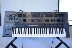 MATRIXSYNTH: Roland JD-800 Programmable Synthesizer SN ZC56057