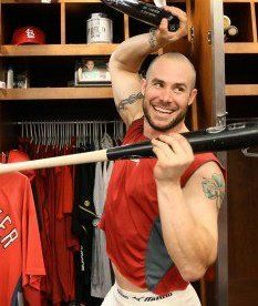 Who would like to put a bow on Skip Schumaker and stick him under my Christmas tree? Or under @Rachel Ann's?