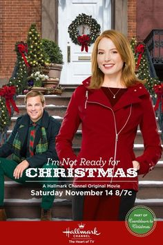 "Hallmark Channel: ""I'm Not Ready for Christmas"" 