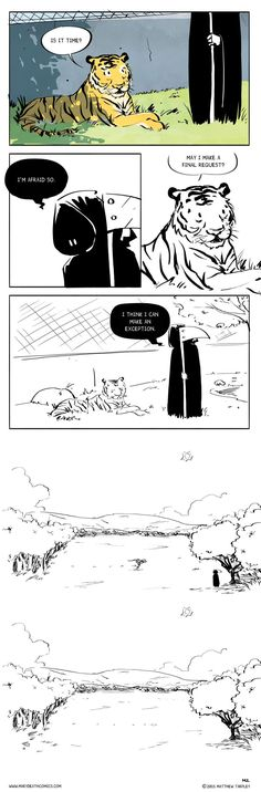 One of my favourite somewhat sad comics ever. Mary Death :: Captivity   Tapastic Comics - image 1