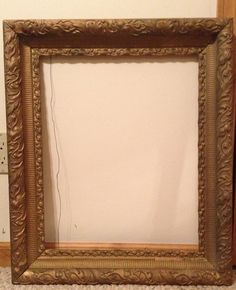 Antique Elegant Gold Wood Frame