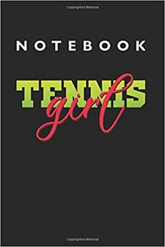 Tennis Girl Notebook: Lined College Ruled Notebook inches, 120 pages): For School, Notes, Drawing, and Journaling Notebooks, Journals, School Notes, Kindle App, Journal Notebook, Machine Learning, Tennis, This Book, College