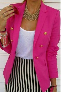 blazer jacket...with some jeans ;)