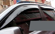 Visor Vent Shade Window Sun Rain Guard For Mercedes Benz ML W166 12-15