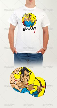 Nice One ...! #T-shirt - Funny #Designs Download here: https://graphicriver.net/item/nice-one-tshirt/6387676?ref=alena994