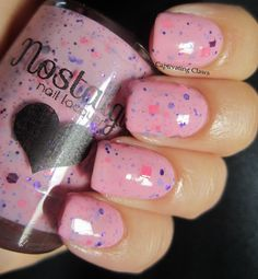 Captivating Claws- Nostalgic Nail Lacquer Girls On Film