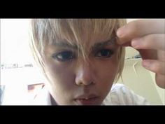 Noiz Tutorial Cosplay fake piercings Dramatical Murder - YouTube