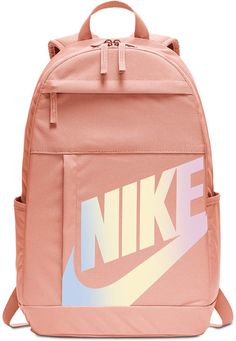 Featuring a classic design and durable storage, the Nike Elemental Backpack is a new spin on an old classic. Trendy Backpacks, School Backpacks, Cute Backpacks For Women, Leather Backpacks, Leather Bags, Backpack For Teens, Backpack Online, Hiking Backpack, Mini Backpack