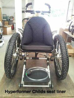 Hyperformer shape adjustable seat insert