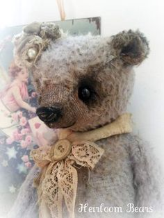 Lavender and Lace by Heirloom Bears