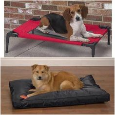 Chew Proof Dog Bed For a Sound Sleep    Your pup will certainly experience a sound sleep in this chew proof dog bed which is made with cotton soft fabric. To improve its coziness, it's been filled with polyester. So, if your canine finds it difficult to sleep in his old bed, get him a new one .  #DogBeds #ChewProofBeds #DogCrates.