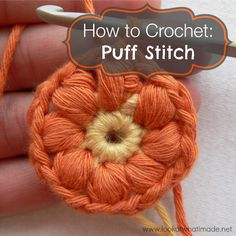 How to Crochet the Puff Stitch ❥ 4U // hf
