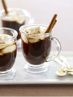 Fall is the perfect time to cozy up next to the fire with a cup of hot chocolate!