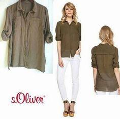 fashionlicious fashion shop online : S.Oliver Cotton Shirt