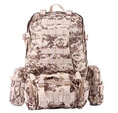 Men Big Capacity Military backpack Survival backpack military Travel Bags Camouflage backpack Molle System Saver Bug Out Bag #Affiliate