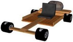 Wooden Go-Kart « Hacked By ReFLeX
