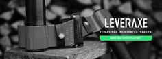 New Leveraxe - The Smart Axe  LIVE ON KICKSTARTER: https://www.kickstarter.com/projects/1949064069/new-leveraxe-the-smart-axe