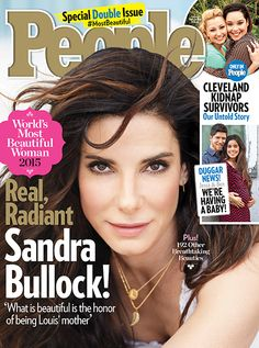 People's Annual 'Most Beautiful' Issue - 2015: Sandra Bullock