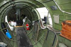 Left side waist gunner area. Remember the floor would have been full of bullet cartridges, as well as other debris.